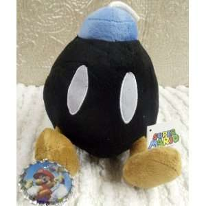 Hard to Find Nintendo Super Mario Brothers 7 Plush Bob omb Bomb