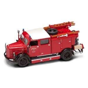 43 Scale Diecast 1950 Mercedes Benz Tlf 15 Fire Truck Toys & Games