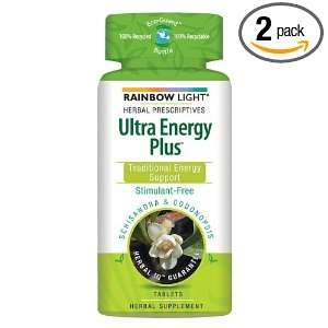 Energy Plus Dietary Supplement, Food Based , 60 tablets (Pack of 2