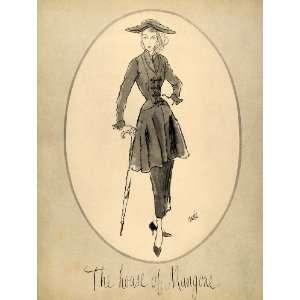 1948 Ad House of Mangone Vintage Womens Dress Fashion