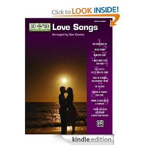 10 for 10 Sheet Music Love Songs Easy Piano Solos Alfred Publishing