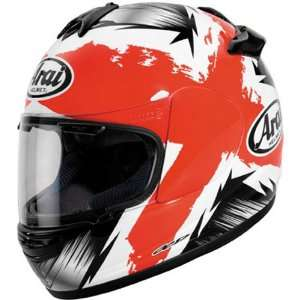 Arai Vector 2 Motorcycle Racing Helmet Marker Red