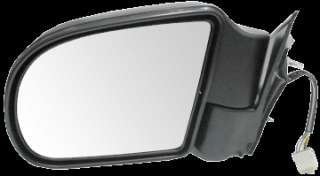 GMC/Chevy/Olds Power Heated Side View Door Mirror Black Assembly
