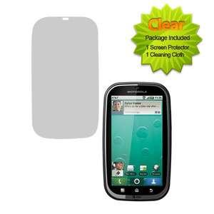 New For Motorola Bravo MB520 Phone Custom Clear LCD Film Guard Screen