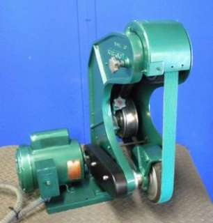 BURR KING #760 3 WHEEL BELT GRINDER 115/220V 1 HP 1 PHASE ***ONTARIO