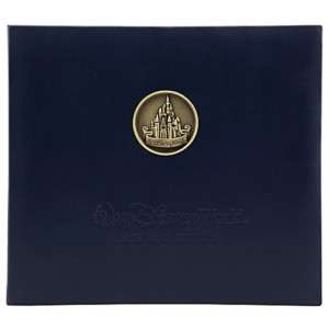 Disney World Castle Medallion Scrapbook 12x12 Album NEW