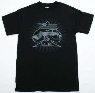 ZZ TOP est. 69 Ace Hot Rod T Shirt Rock & Roll Music Black NWOT