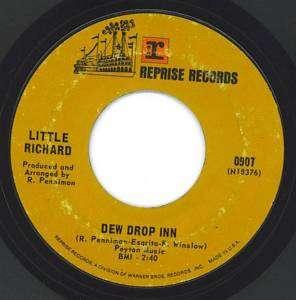 ROCK R&B SOUL LITTLE RICHARD on REPRISE DEW DROP INN