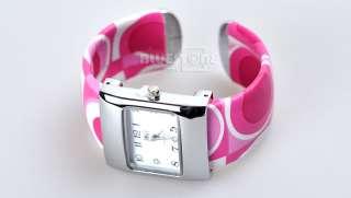Ladies Girl Fashion Quartz Metal Bracelet Wrist Watch