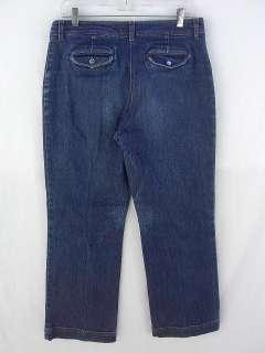 Jones New York Signature Petite Denim Blue Jeans 12P Dark Blue