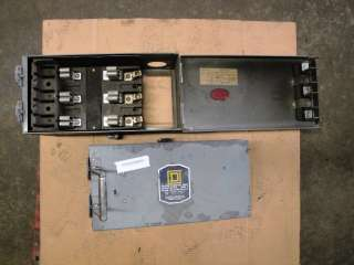 This auction is for 1 Square D bus duct round bar Fused Disconnect