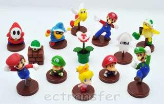 Super Mario Bros 1.5~2 Lot 13 Action Figure Doll/MS83