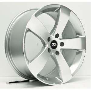 18x8 Enkei GP5 (Silver) Wheels/Rims 5x120 (474 880 1242SP) Automotive