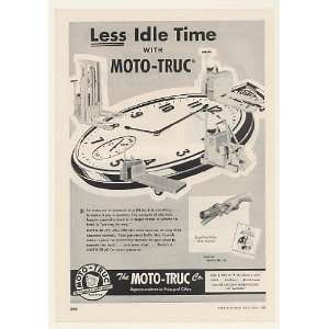 Truc Lift Truck Less Idle Time Trade Print Ad (48044): Home & Kitchen