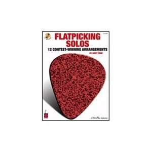 Leonard Flatpicking Solos 12 Contest Winning Arrangements (Book/CD