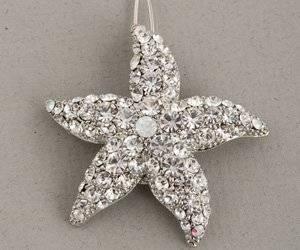 Clear Rhinestone Starfish Bridal Hair Comb Clip Explore similar items