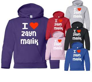 ZAYN MALIK~ONE DIRECTION/1D HOODIE IN 6 DIFFERENT COLOURS  SIZE S XXL