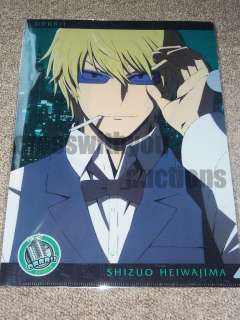 Durarara Double sided CLEARFILE Izaya/Shizuo Shizaya