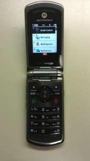 MOTOROLA W755 VCAST  VERIZON CAMERA CELL PHONE BLACK 723755832565