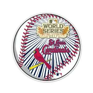 MLB St. Louis Cardinals 2011 National League Champions Die Cut Pennant