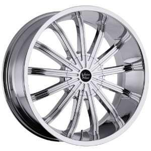Xtacy 5x127 5x5 5x135 +15mm Chrome Wheels Rims Inch 24 Automotive