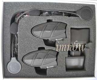 2xBT interphone bluetooth motorcycle helmet intercom+FM