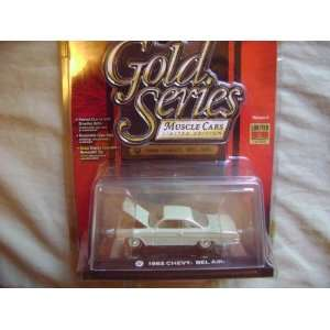 Johnny Lightning Gold Series Muscle R6 1962 Chevy Bel Air