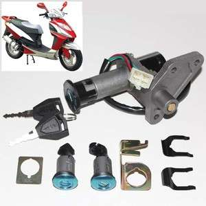 GY6 Moped Motorcycle Scooter Ignition Key Switch Lock Set 50 150cc