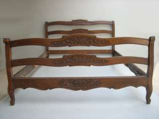 Antique French Country mahogany full bed # as/1625