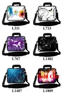 17.3 Neoprene Laptop Bag Case Sleeve w. Pocket Handle & Carrying