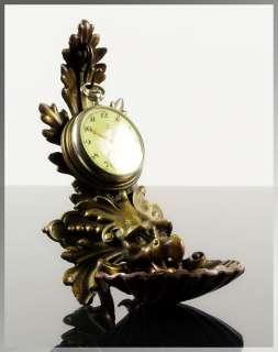 Antique 1850s French BRONZE GARGOYLE SCULPTURE Pocket Watch Stand