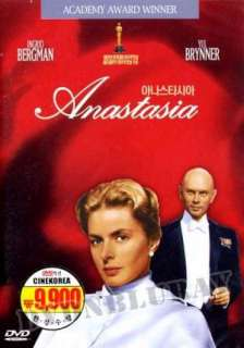 Anastasia DVD(1956) *NEW*Ingrid Bergman,Yul Brinner