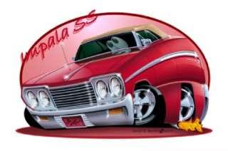 1964 Chevy Impala SS Convertible T Shirt #6241 GM NWT