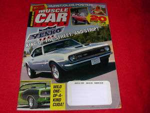 March 1999 MUSCLE CAR REVIEW Magazine 68 Yenko~Linda Vaughn Hurst