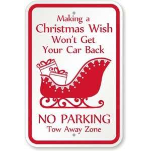 Making a Christmas Wish Wont Get Your Car Back, No