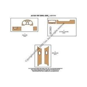 TT Dash Trim Kit 01 04   12 pieces   Mustard Birdseye Maple (7 221