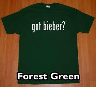 GOT justin BIEBER T Shirt fever new concert tee