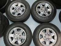 Four 2011 Dodge Ram 2500 3500 Factory 17 Wheels Tires OEM Rims 2384