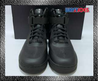 2011 Nike Air Force 1 Hi High HYP PRM Black Midnight Fog US 8~12