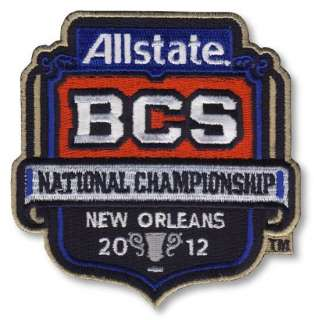 Patch 2012 BCS National Championship + Rose Bowl + Orange + Fiesta