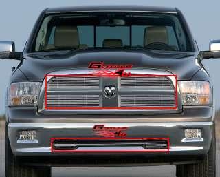 2009 2012 Dodge Ram 1500 Pickup Billet Grille Grill Combo Insert