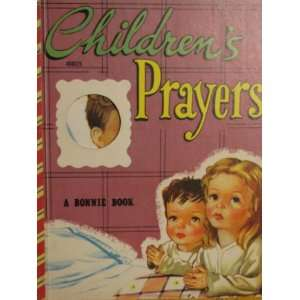 Childrens Prayers   A Bonnie Book Peter David Books