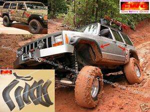 JEEP CHEROKEE XJ FENDER FLARES   WHEEL ARCH EXTENSIONS NEW