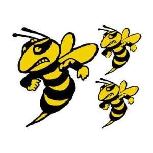 HORNETS 3 Permanent Vinyl stickers/decals (Bugs,Bee