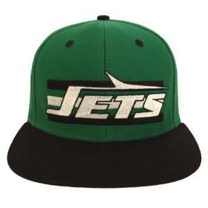 New York Jets Retro Billboard Snapback Cap Hat 2 Tone