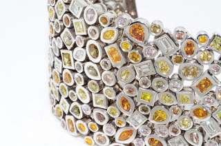 250,000 40.26CT NATURAL MULTI COLORED & WHITE DIAMOND CLUSTER