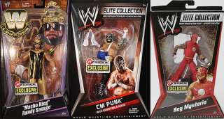 RINGSIDE EXCLUSIVES   WWE PACKAGE DEAL MATTEL TOY WRESTLING ACTION