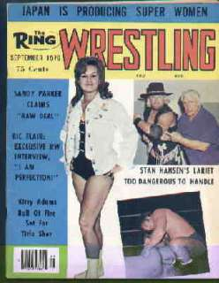 Ring Wrestling Magazine Sept 1976 Girls Kitty Adams |