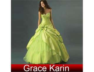 New Wedding Dress Evening Prom Ball Gown Bridesmaids Bridal Dresses A