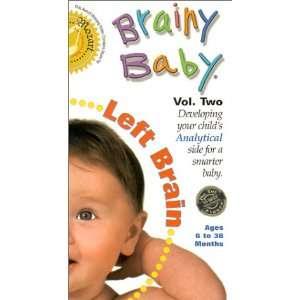 Brainy Baby   Left Brain [VHS] Brainy Baby Left Brain Movies & TV